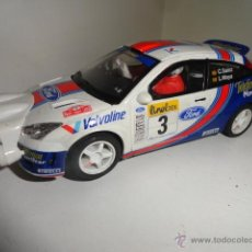 Scalextric: FORD FOCUS WRC SAINZ MOYA SCALEXTRIC TECNI TOYS. Lote 43168158