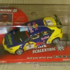 Scalextric: SEAT LEON - SCALEXTRIC. Lote 44186376