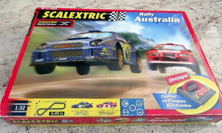 SCALEXTRIC RALLY AUSTRALIA FUNCIONA (Juguetes - Slot Cars - Scalextric Tecnitoys)
