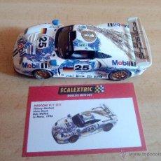 Scalextric: PORSCHE 911 GT1 SCALEXTRIC TECNITOYS ALTAYA. COLECCION DUELOS MITICOS.. Lote 83823582