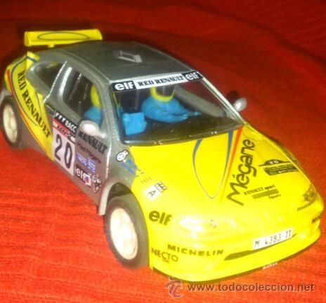 RENAULT MEGANE - SCALEXTRIC (Juguetes - Slot Cars - Scalextric Tecnitoys)