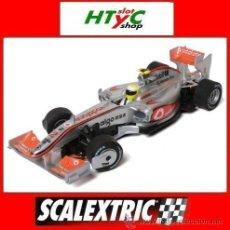 Scalextric: OFERTÓN!!! SCALEXTRIC MCLAREN VODAFONE MERCEDES RACE CAR 2010 LEWIS HAMILTON #2 SCX 64630. Lote 46871761