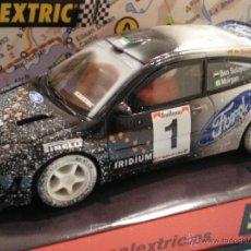 Scalextric: SCALEXTRIC TECNITOYS FORD FOCUS WRC IRIDIUM EFECTO NIEVE RARO. Lote 47470554