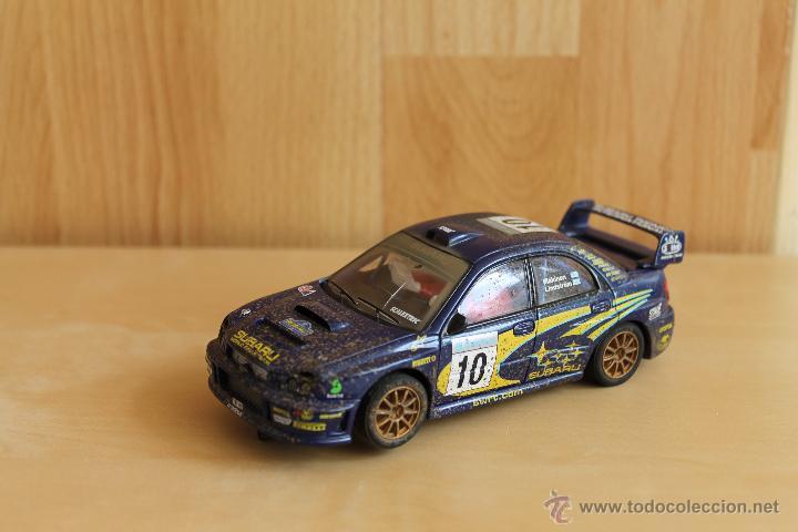 SUBARU IMPREZA WRC DE SCALEXTRIC (Juguetes - Slot Cars - Scalextric Tecnitoys)