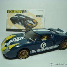 Scalextric: FORD GT 40 DE SCALEXTRIC TECNITOYS COCHES MITICOS. Lote 39907205