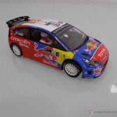 Scalextric: SLOT, SCX,SCALEXTRIC, CITROEN C4 WRC Nº 1 SEBASTIAN LOEB, RALLY DE ARGENTINA 2008. Lote 48768870