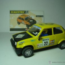 Scalextric - RENAULT 5 COPA DE SCALEXTRIC COCHES MITICOS. - 48859406