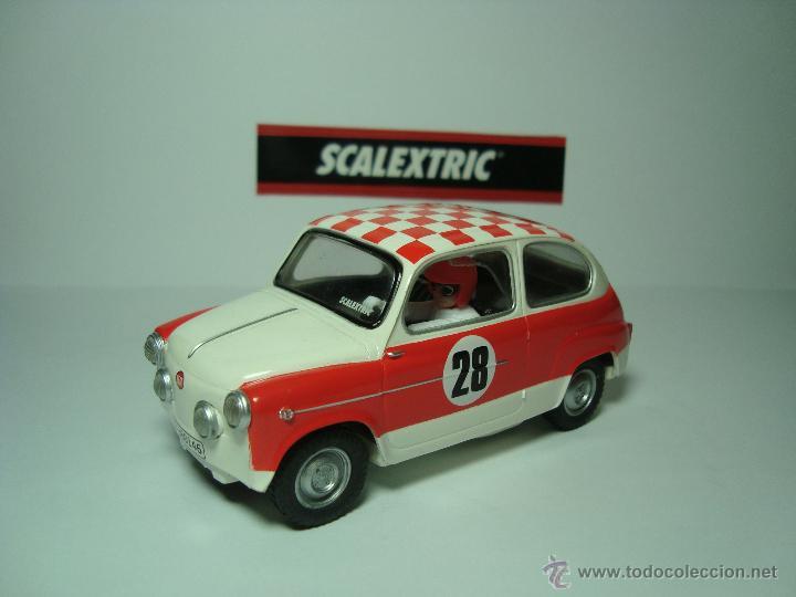SEAT 600 TC DE SCALEXTRIC COCHES MITICOS TECNITOYS (Juguetes - Slot Cars - Scalextric Tecnitoys)