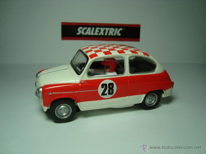 Scalextric: SEAT 600 TC DE SCALEXTRIC COCHES MITICOS TECNITOYS - Foto 4 - 49018160