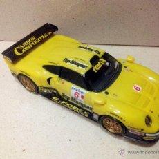 Scalextric: PORSCHE 911 GT1 SCALEXTRIC TECNITOYS PLANETA. Lote 132844313