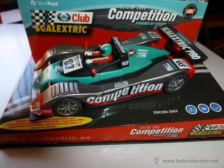 REF.6134 LEMANS COMPETITION TEAM 2003 (Juguetes - Slot Cars - Scalextric Tecnitoys)