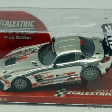 Scalextric: MERCEDES SLS AMG 2012 SCALEXTRIC TECNITOYS NUEVO EN CAJA. Lote 49754828