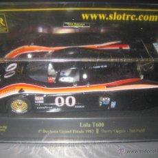 Scalextric: LOLA T600 NEGRO Nº00 GANADOR DAYTONA 82 DE SRC. Lote 136426574