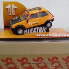 Scalextric: SLOT, SCX, SCALEXTRIC 6481, RENAULT 5 ,COPA ,TURBO, CLUB SCALEXTRIC 2011. Lote 50650471