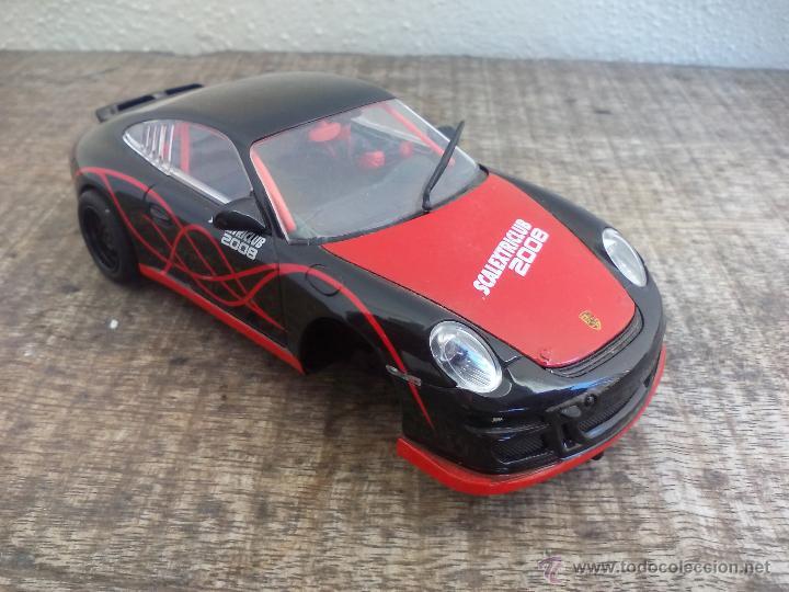 COCHE SCALEXTRIC. PORSCHE 911 GT3 CUP. SCALEXTRICLUB 2008. SCX EDICIÓN ESPECIAL (Juguetes - Slot Cars - Scalextric Tecnitoys)