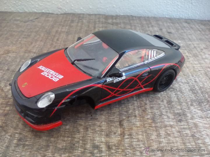 Scalextric: Coche Scalextric. Porsche 911 GT3 cup. Scalextriclub 2008. SCX edición especial - Foto 2 - 50779756