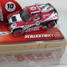 Scalextric: SLOT, SCX, SCALEXTRIC 6443, VOLKSWAGEN TUAREG, CLUB SCALEXTRIC 2010. Lote 50882174