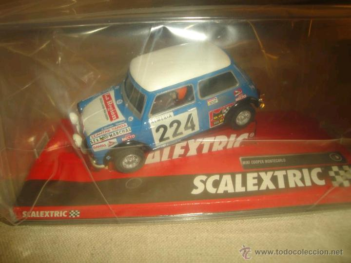 MINI COOPER REVERTER-MONTECARLO SCALEXTRIC REF. A10193S300 (Juguetes - Slot Cars - Scalextric Tecnitoys)