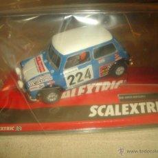 Scalextric: MINI COOPER REVERTER-MONTECARLO SCALEXTRIC REF. A10193S300. Lote 51376943