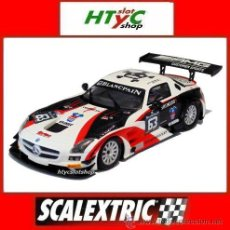 Scalextric: SCALEXTRIC MERCEDES BENZ AMG SLS #63 MIGUEL TORIL / HETHERINGTON SCX A10202S300. Lote 51728965