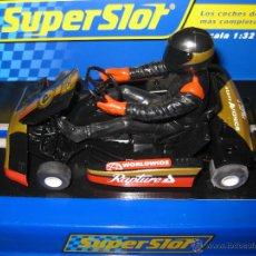 Scalextric: NOVEDAD - SUPER KART NEGRO Nº8 DE SUPERSLOT. Lote 52393632