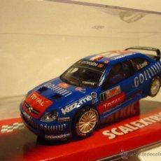Scalextric: CITROEN XSARA WRC LOEB SCALEXTRIC NUEVO. Lote 160888890
