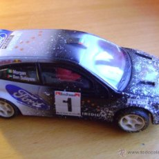 Scalextric: SCALEXTRIC TECNITOYS FORD FOCUS WRC EFECTO NIEVE FUNCIONANDO. Lote 52870717