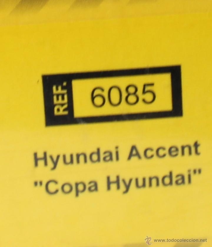 Scalextric: SCALEXTRIC HYUNDAI ACCENT COPA HYUNDAI REF. 6085 - Foto 2 - 52933126