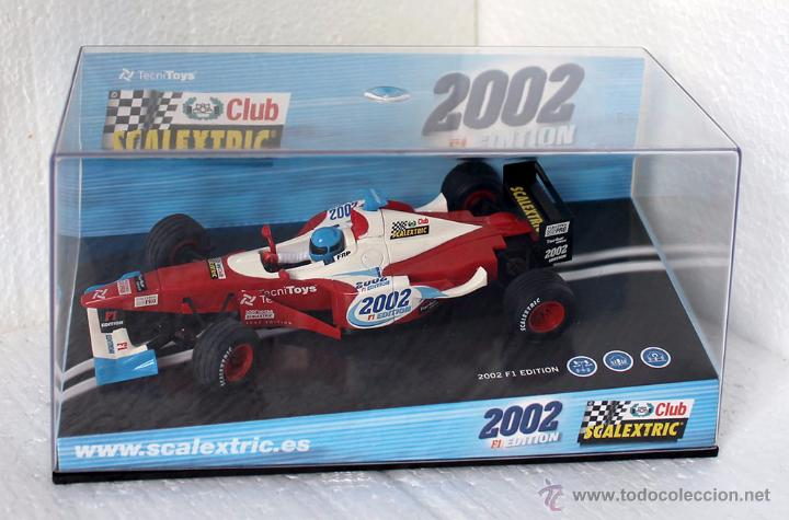 SCALEXTRIC F1 CLUB SCALEXTRIC 2002 REF. 6105 (Juguetes - Slot Cars - Scalextric Tecnitoys)
