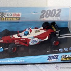 Scalextric: SCALEXTRIC F1 CLUB SCALEXTRIC 2002 REF. 6105. Lote 169791000