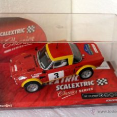 Scalextric: SCALEXTRIC FIAT 124 SPYDER RALLY COSTA BRAVA HISTORIC 2006. Lote 113663655