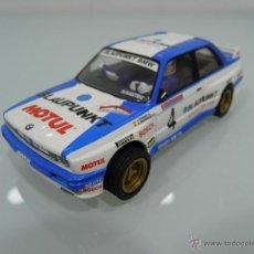 Scalextric: SLOT,SCX, SCALEXTRIC,BMW M3, Nº4,BLAUPUNKT, MOTUL, PEP BASAS, A. RGUEZ, 1º PRINCIPE DE ASTURIAS 1989. Lote 53194586