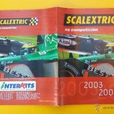 Scalextric: CATALOGO SCALEXTRIC 2003-2004. Lote 53499575