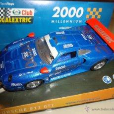 Scalextric: SCALEXTRIC. PORSCHE 911 GT1. MILLENNIUM. REF. 6043. Lote 164793506
