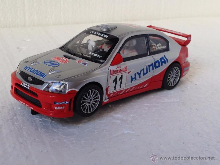 SCALEXTRIC HYUNDAI ACCENT MONTE CARLO (Juguetes - Slot Cars - Scalextric Tecnitoys)
