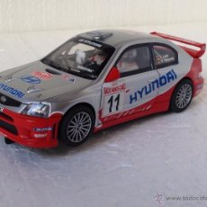 Scalextric: SCALEXTRIC HYUNDAI ACCENT MONTE CARLO. Lote 54470036