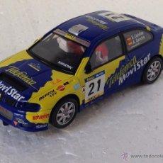 Scalextric: SCALEXTRIC SEAT CORDOBA WRC CAÑELLAS TELEFONICA MOVISTAR. Lote 54533094