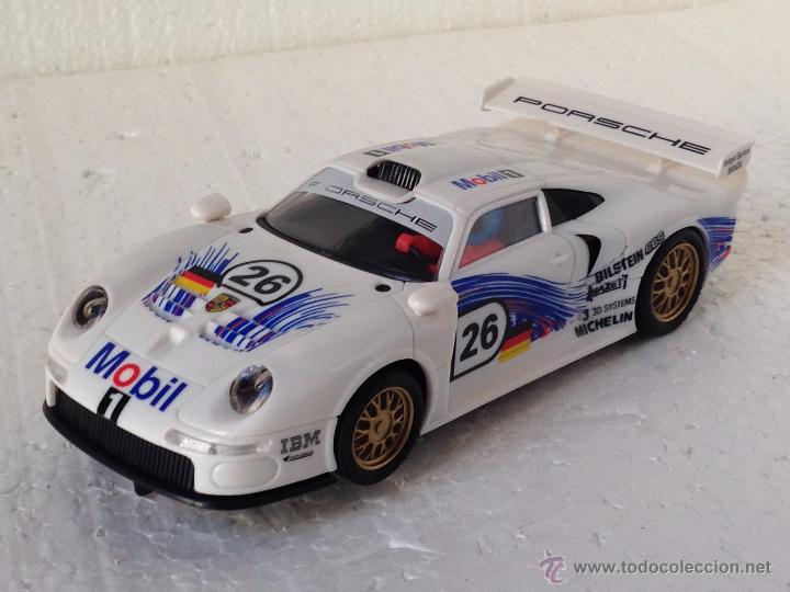 SCALEXTRIC PORSCHE 911 GT1 MOBIL (Juguetes - Slot Cars - Scalextric Tecnitoys)