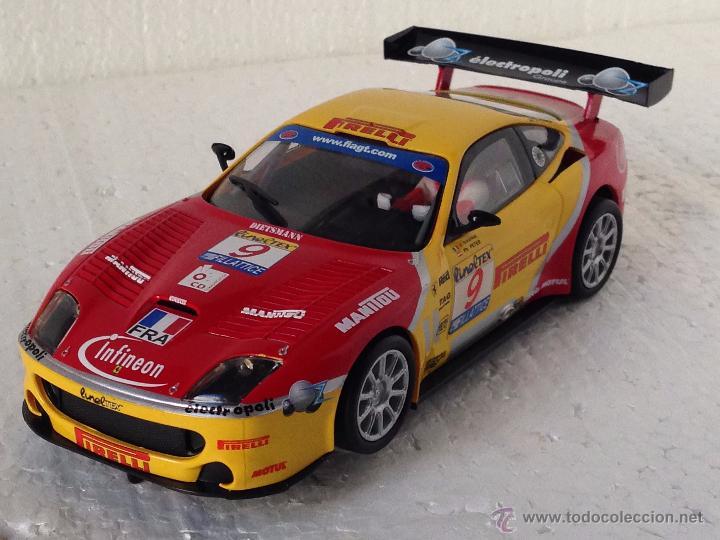 SCALEXTRIC FERRARI 550 MARANELLO PIRELLI (Juguetes - Slot Cars - Scalextric Tecnitoys)