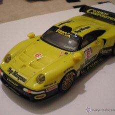Scalextric: SCALEXTRIC TECNITOYS PORSCHE 911 GT 1 NUEVO DE PLANETA. Lote 187185790