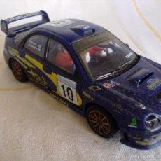 Scalextric: SUBARU IMPREZA WRC DE BARRO SCALEXTRIC MOTOR TECNITOYS. Lote 55913055