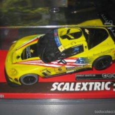 Scalextric: A10199S300 - CHEVROLET CORVETTE C6R TUTUMLU DE SCALEXTRIC. Lote 75525413