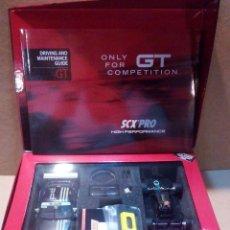 Scalextric: SCX PRO MEJORADO PORSCHE 911 GT3 24000RPM 5059 + MOTOR MSC THUNDER SCALEXTRIC OSC NSR SLOT.IT RACER. Lote 158995814