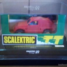 Scalextric: 6346 MITSUBISHI PAJERO TT VINTAGE ROJO SCALEXTRIC SCX EXIN TECNITOYS GOM MSC OSC CARTRIX. Lote 58466082