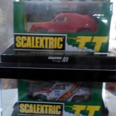 Scalextric: PACK 2 MITSUBISHI PAJERO TT VINTAGE DE SCALEXTRIC. Lote 58852846
