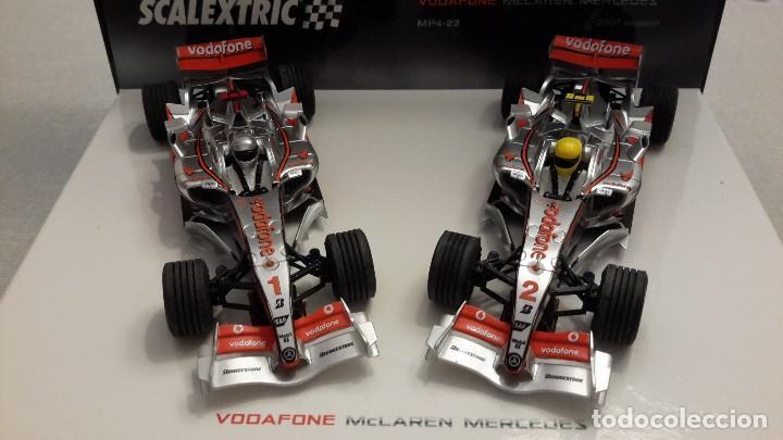 SCALEXTRIC VODAFONE MCLAREN MERCEDES. MP4-22 2007 SEASON. (Juguetes - Slot Cars - Scalextric Tecnitoys)