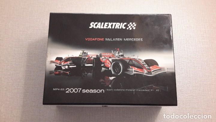 Scalextric: SCALEXTRIC VODAFONE MCLAREN MERCEDES. MP4-22 2007 SEASON. - Foto 3 - 61722676