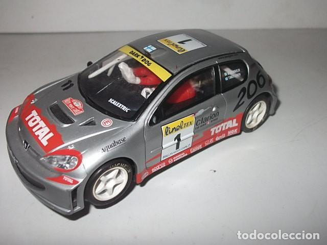 SCALEXTRIC PEUGEOT 206 WRC BARATO VER DESCRIPCION (Juguetes - Slot Cars - Scalextric Tecnitoys)