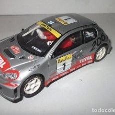 Scalextric: SCALEXTRIC PEUGEOT 206 WRC BARATO VER DESCRIPCION. Lote 62204076
