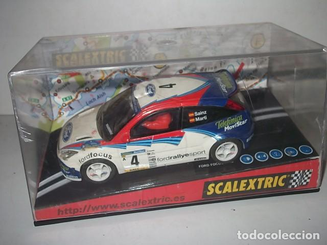 Scalextric: SACLEXTRIC FORD FOCUS EN CAJA BARATO VER DESCRIPCION - Foto 1 - 62206816